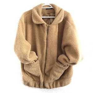 Zaful teddy bear jacket. Size L